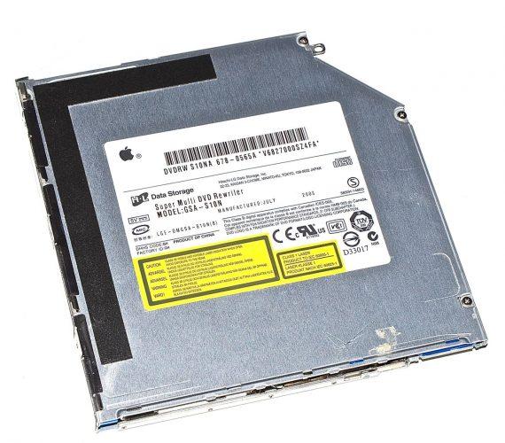 """SuperDrive / Laufwerk GSA-S10N für MacBook 13"""" A1181 Early 2008-0"""