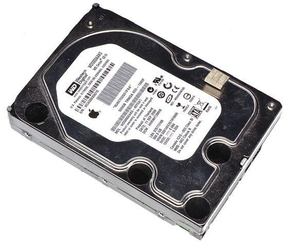 """Festplatte Western Digital 500GB WD5000AAKS-40YGA1 iMac 21.5"""" Late 2009 A1311-0"""