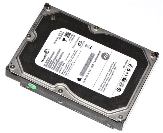 "Festplatte Seagate 500GB ST3500630AS iMac 21.5"" Late 2009 A1311-0"