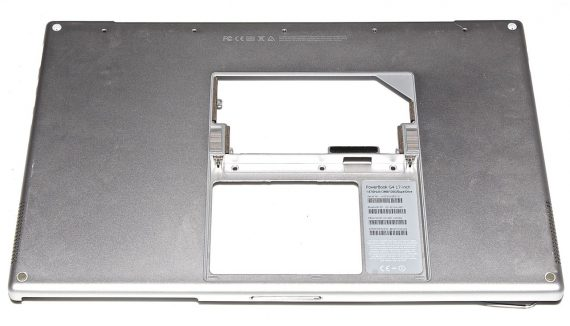 "Lower Case / Bottom Case / Gehäuse für PowerBook G4 17"" 1,67GHz A1139-0"