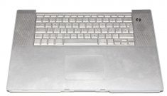 """Topcase & Tastatur & Trackpad für PowerBook G4 17"""" 1,67GHz A1139-0"""