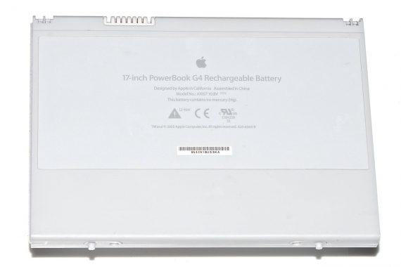 """Akku / Batterie A1057 Ladezyklen 177 für PowerBook G4 17"""" 1,67GHz A1139-0"""