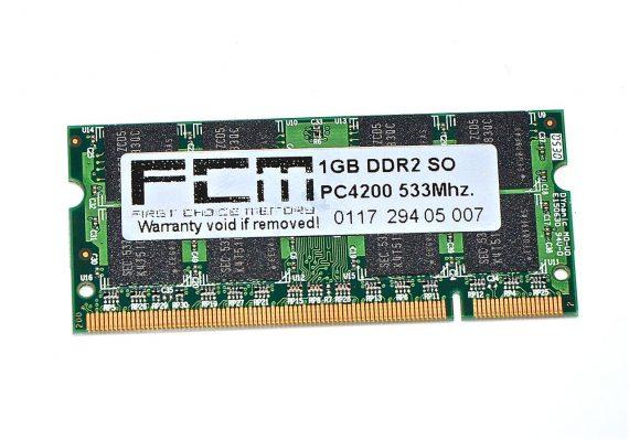 """RAM PC4200 1GB für PowerBook G4 17"""" 1,67GHz A1139-0"""
