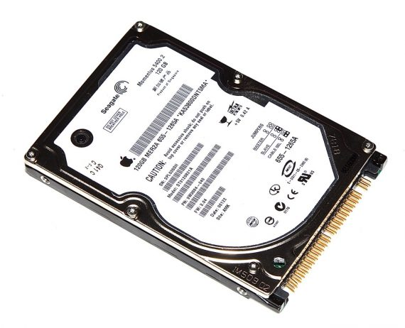 """Hard Drive Festplatte 2,5"""" IDE Seagate 120GB ST9120821A für PowerBook G4 17"""" 1,67GHz A1139-0"""