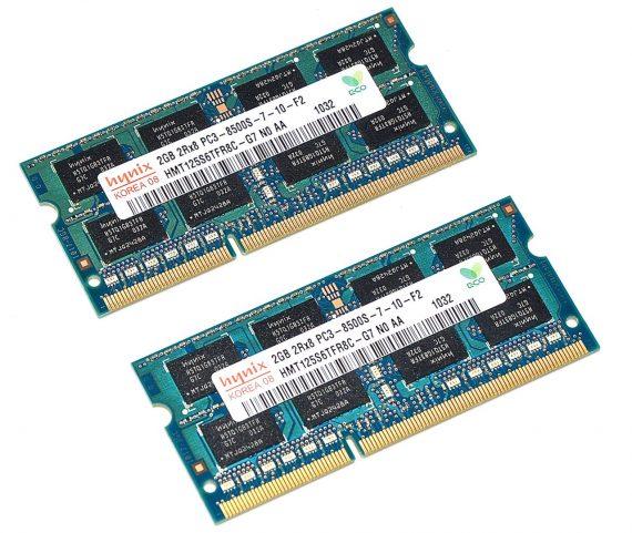 """RAM PC3-8500S 4GB Unibody 13"""" Mid 2010 A1342-0"""