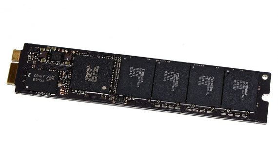 Original Apple TOSHIBA 256GB SSD THNSNC256GMDJ MacBook Air A1369 / A1370 661-5684, 661-6052-0