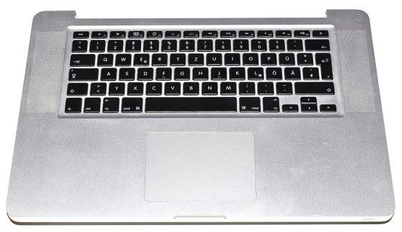 """Original Apple Topcase Tastatur Trackpad MacBook Pro 15"""" Late 2008 / Mid 2009 A1286 661-4948-0"""