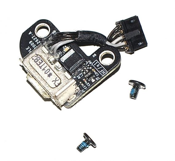 """Magsafe DC-IN Board 820-2627-A MacBook Unibody 13"""" Mid 2010 A1342-0"""