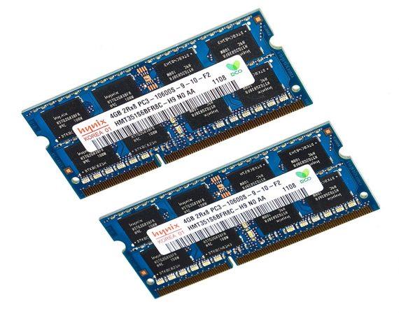 """RAM 8GB PC3-10600S 1333 MHz DDR3 für iMac 21.5"""" A1311 Mid 2010-0"""