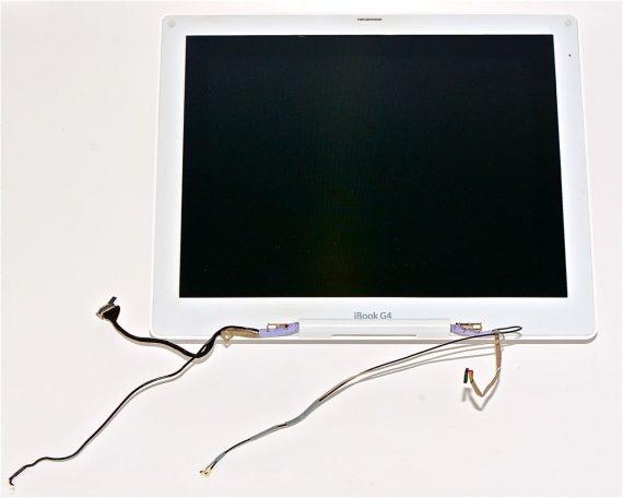 "Komplett Display Assembly / LCD / Screen für iBook G4 12"" 1.33 GHz Mid 2005 Model A1311-0"