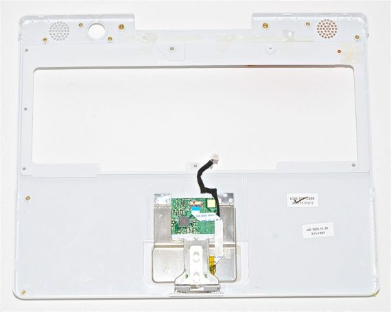 "Top Case Trackpad 815-7984 für iBook G4 12"" 1.33 GHz Mid 2005 Model A1311-3318"