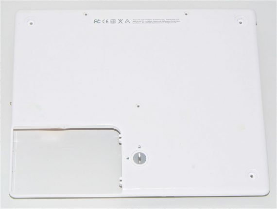 "Housind, Bottom Case / Unterteil für iBook G4 12"" 1.33 GHz Mid 2005 Model A1311-0"