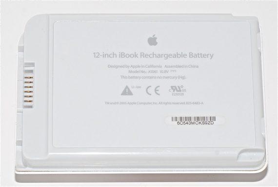"Akku / Batterie 60 Ladezyklen für iBook G4 12"" 1.33 GHz Mid 2005 Model A1061-0"