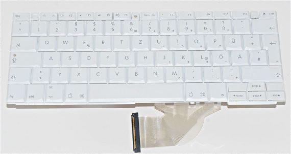 """Keyboard / Tastatur Deutsch für iBook G4 12"""" 1.33 GHz Mid 2005 Model A1311-0"""