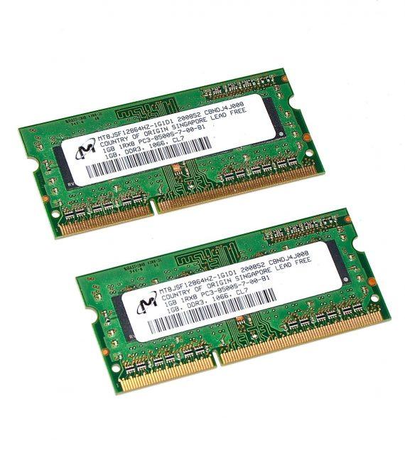 """RAM 2GB PC3-8500S für iMac 20"""" A1224 Early 2009-0"""