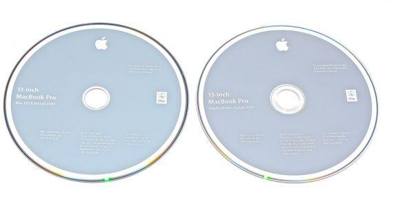 "Original Apple Restore 2 DVD MAC OS X 10.6.3 MacBook Pro 13"" A1278 Mid 2010-0"