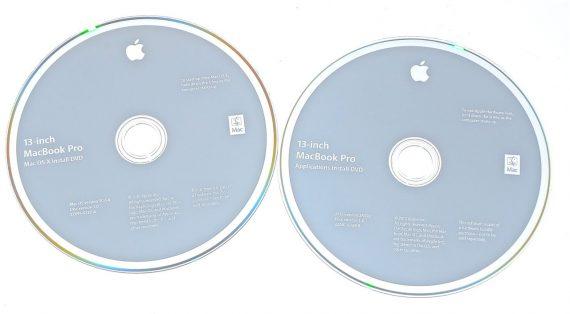 "Original Apple Restore 2 DVD MAC OS X 10.6.4 MacBook Pro 13"" A1278 Mid 2010-0"