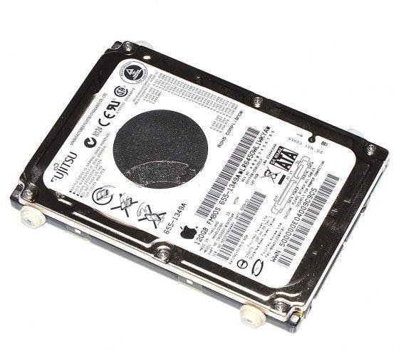 "Original Apple FUJITSU Festplatte 2,5"" SATA 120GB MHW2120BH 655-1349A MacBook Pro 15"" Model A1211-0"