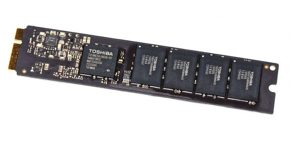"Original Apple Toshiba 128GB SSD THNSNS128GMFP 665-1756A MacBook Air 13"" Mid 2012 A1466 -0"