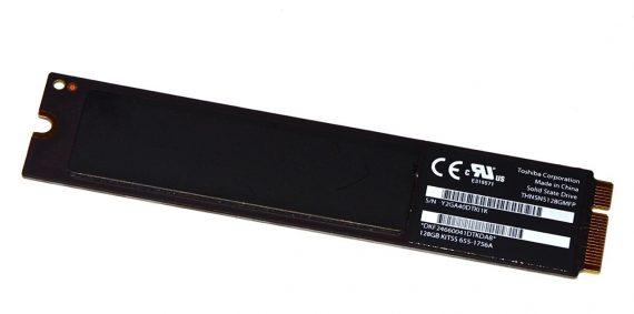 "Original Apple Toshiba 128GB SSD THNSNS128GMFP 665-1756A MacBook Air 13"" Mid 2012 A1466 -3550"
