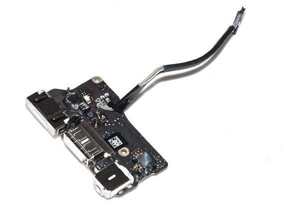 "Original Apple DC-IN MagSafe I/O Audio Board 820-3214-A MacBook Air 13"" Mid 2012 A1466 923-0125-0"