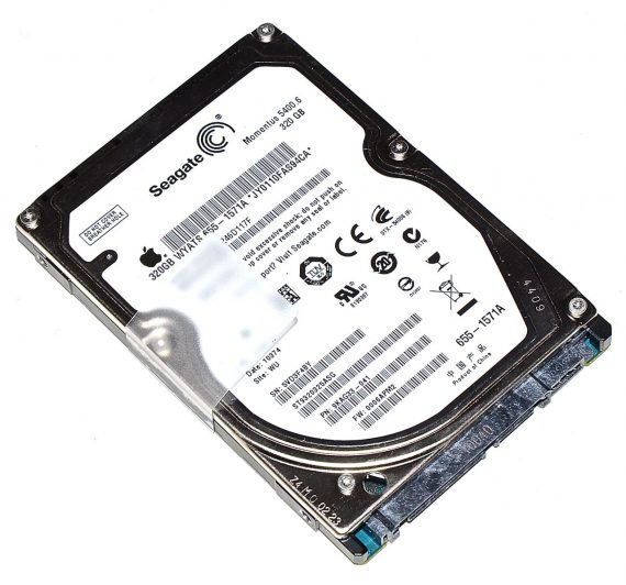 "Original Apple Festplatte 2,5"" SATA Seagate 320GB ST9320325ASG 655-1571A MacBook Pro 13"" A1278 ( Mid 2009 / Mid 2010 ) -0"