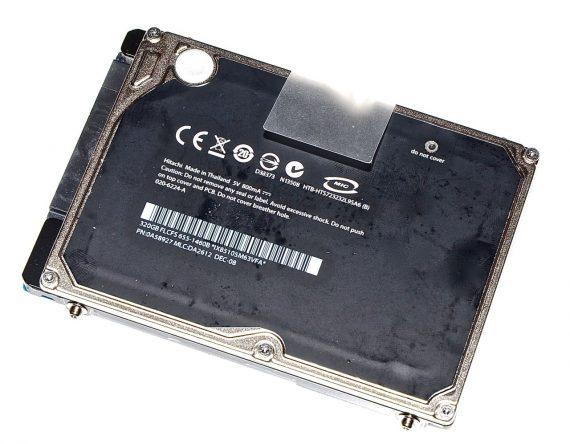 """Original Festplatte 320GB Hitachi 2,5"""" SATA 020-6224-A MacBook Pro 15"""" A1286 Late 2008 / Early 2009-0"""