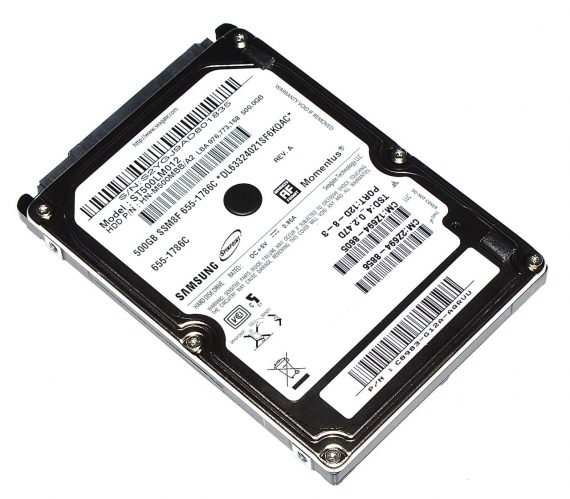 Mac Mini Unibody Hard Drive / Festplatte SAMSUNG 500GB ST500LM012 A1347 Late 2012-0