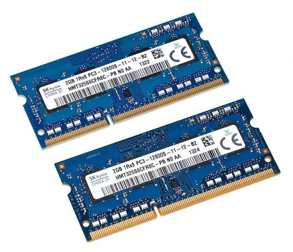 Mac Mini Unibody RAM 4GB PC3-12800S A1347 Late 2012-0
