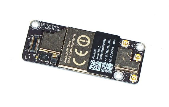 Mac Mini Unibody AirPort / Bluetooth Karte 607-9562 BCM94331PCIEBT3B A1347 Late 2012-0