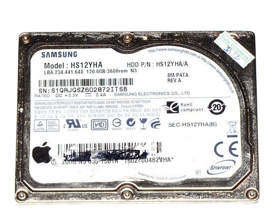 "Original Apple Festplatte 1.8"" HDD Samsung 120GB HS12YHA MacBook Air 13"" Model A1237 -0"