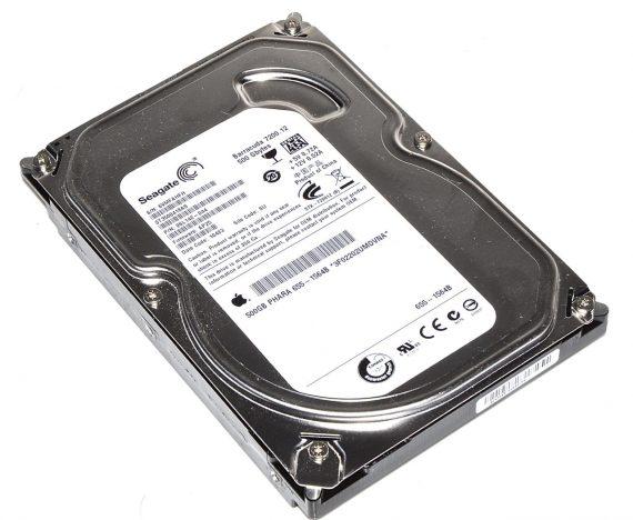 "Festplatte Seagate 500GB ST3500418AS für iMac 21.5"" A1311 Mid 2010-0"