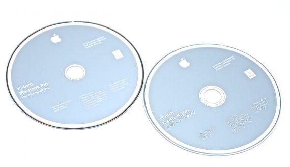 "Original Apple 2 DVD MAC OS X 10.6.6 Snow Leopard MacBook Pro Unibody 15"" Early 2011 / Late 2011 A1286-0"
