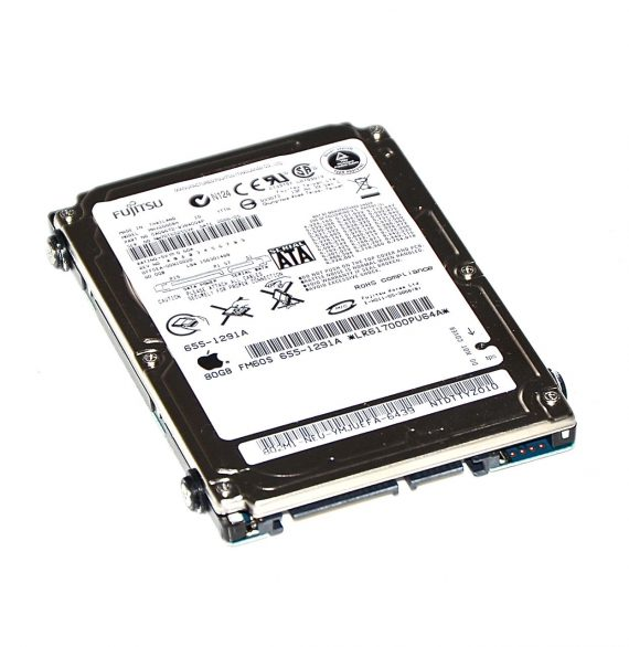 """Original Fujitsu Festplatte 2,5"""" SATA 80GB MHV2080BH MacBook Pro 15"""" A1150-0"""