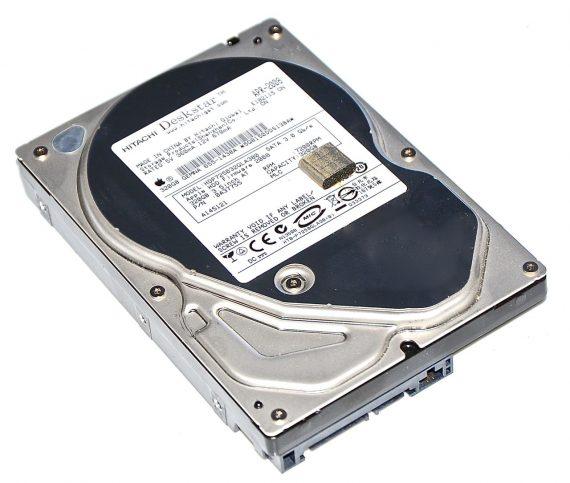 "Festplatte Hitachi 320GB HDP7250320GLA380 iMac 24"" Mid 2008 Model A1225-0"