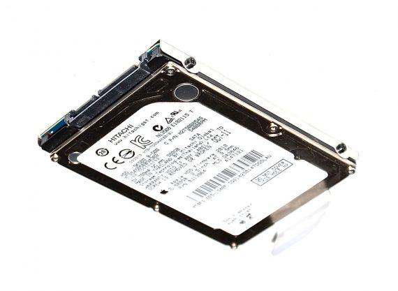 "MacBook 13"" Festplatte 2,5"" SATA Hitachi 500GB HTS545050B9A302 Model A1181 Core Duo -0"