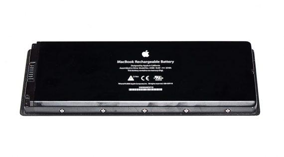 """MacBook 13"""" Akku / Batterie A1185 195 Ladezyklen Model A1181 Core Duo -0"""
