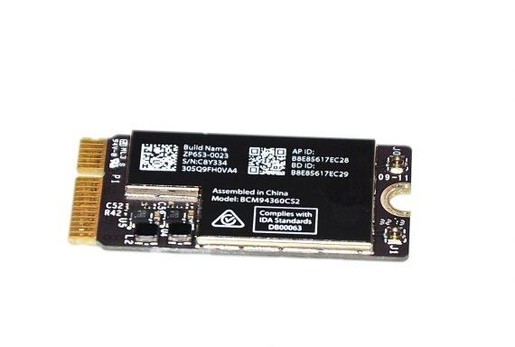 "Original Apple AirPort / Bluetooth Karte BCM94360CS2 MacBook Air 13"" Model A1466 Mid 2013 661-7481 -0"
