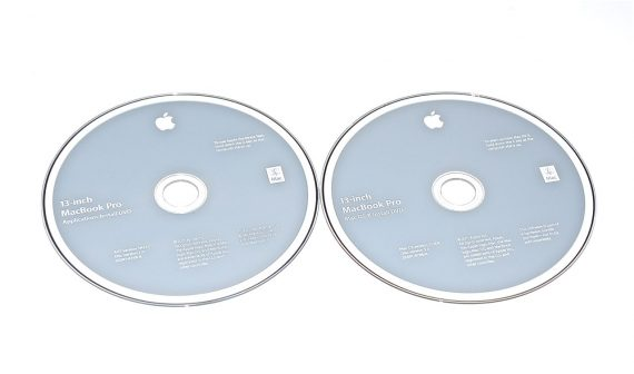"Original Apple 2 DVD MAC OS X 10.6.6 MacBook Pro 13"" ( Early 2011 / Late 2011) A1278-0"