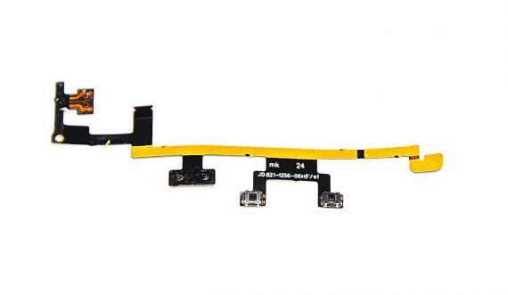 Volume und Power Button Kabel / Ein / Aus Schalter 821-1256-06 für iPad 3 Model A1430-0