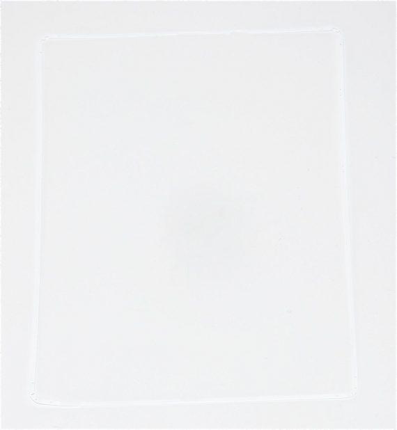 LCD Frame Bezel White / Dichtung Weiß für iPad 3 Model A1430-0