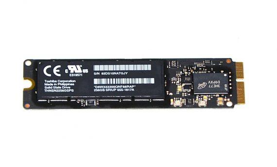 "Original Apple Toshiba 256GB KITSS 655-1817A THNSN2256GSPS MacBook Air 11"" Model A1465 Mid 2013 661-7459-4712"
