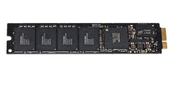 "Original Apple Festplatte Toshiba 128GB THNSNC128GMDJ 655-1634A MacBook Air 11"" 13"" A1369 A1370 661-5683, 661-6051-0"