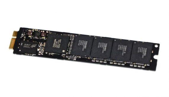 "Original Apple Festplatte Toshiba 256GB THNSNC256GMDJ MacBook Air 11"" 13"" A1369 A1370 661-5684, 661-6052-4741"