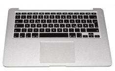 "Original Apple Topcase Tastatur Deutsch Trackpad MacBook Air 13"" Mid 2013 A1466 -0"