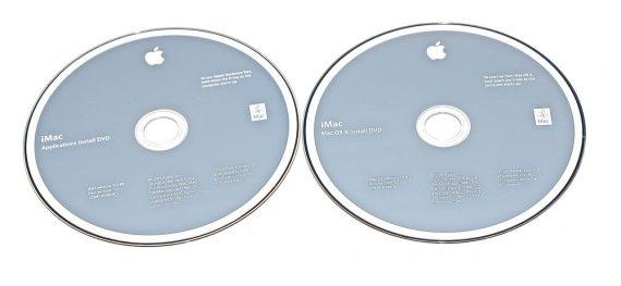 "2 DVD Apple Mac OS X 10.6.1 Snow Leopard iMac 27"" A1312 Late 2009-0"