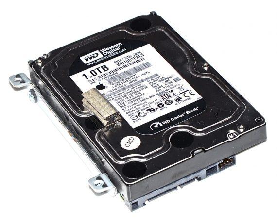 """Festplatte Western Digital 1TB SATA HDD, WD1001FALS-40Y6A0 655-1567A iMac 27"""" Mid 2010 A1312-0"""