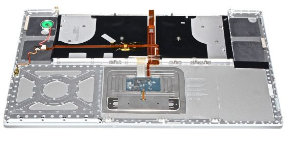 "Topcase & Tastatur & Trackpad MacBook Pro 17"" Model A1229-5203"