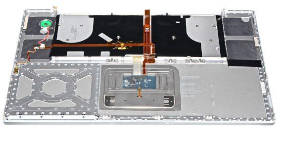 "Topcase & Tastatur & Trackpad MacBook Pro 17"" Model A1229-5203"