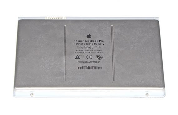 "Akku / Batterie A1189 161 Ladezyklen MacBook Pro 17"" Model A1212-5232"